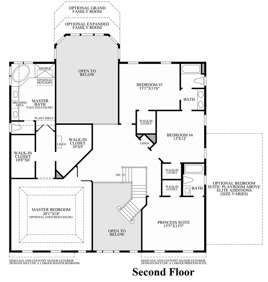 Marlboro ridge the hunt the wayne home design Wayne homes floor plans