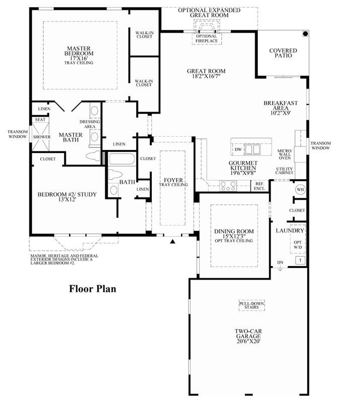 Weatherly - Floorplan