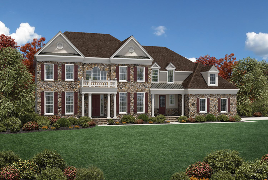 Villanova Single Family Estate Homes Liseter Collections