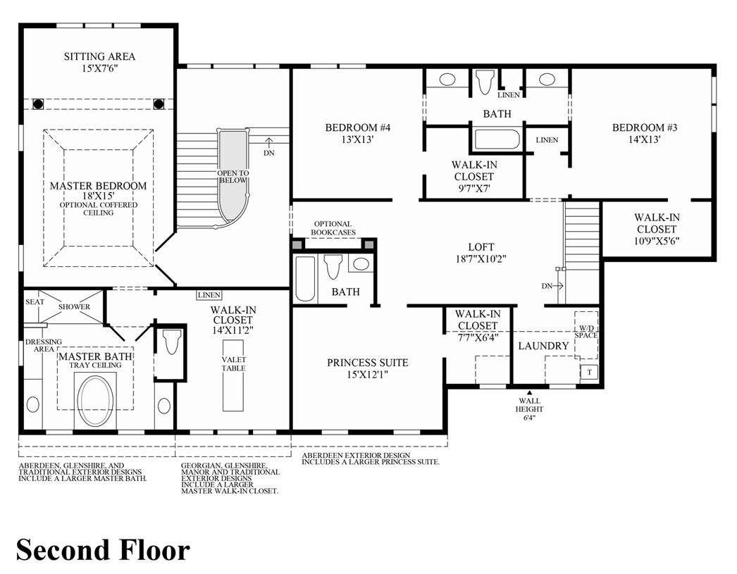 dutchess farm estates the essington home design view floor plans