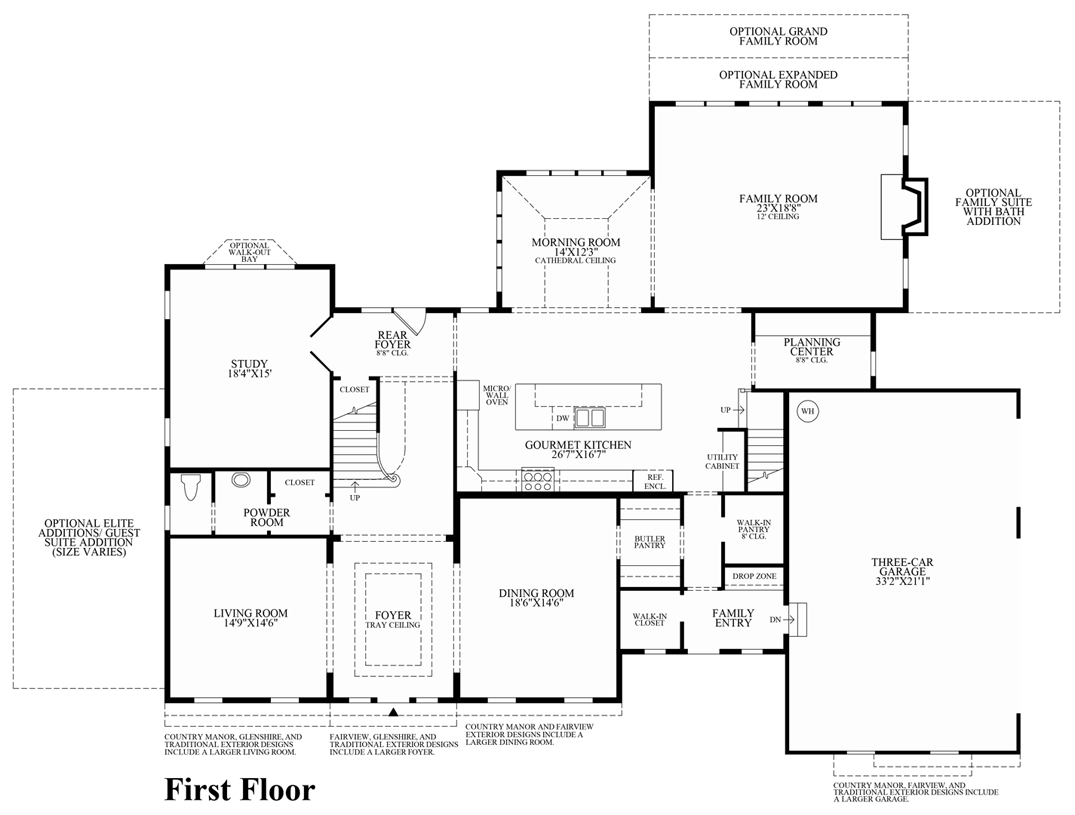 House plans with walk through closet for Walk through shower plans