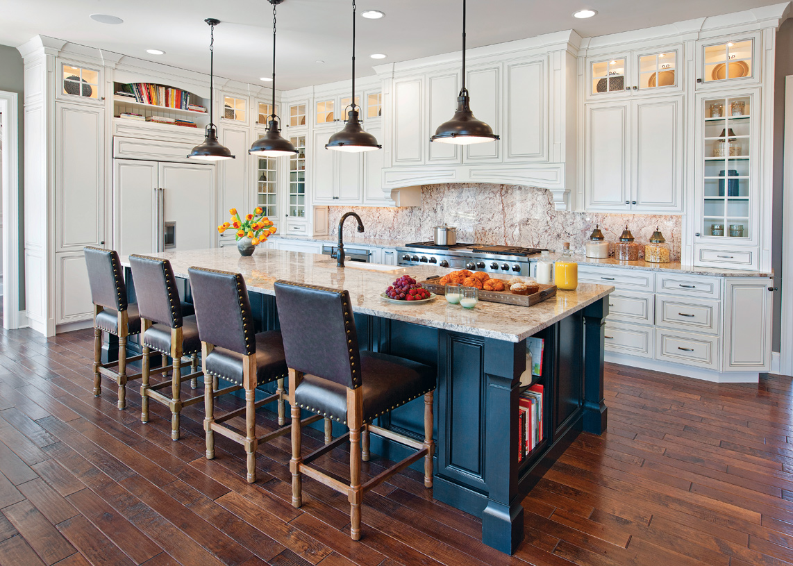 Stunning kitchen design with high-end features