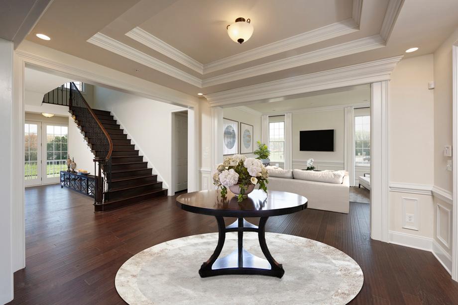 foyer interior design trotters glen the henley home design