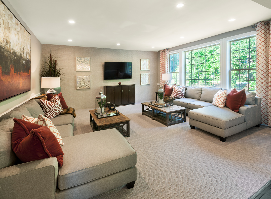 Entertain friends and family in the spacious great room