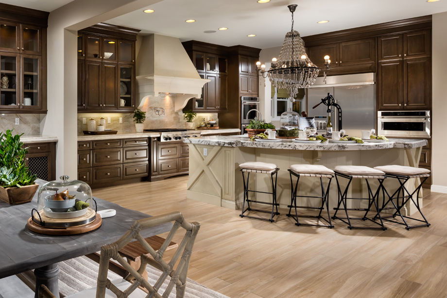 Westcliffe at porter ranch palisades collection the for Gourmet kitchen plans