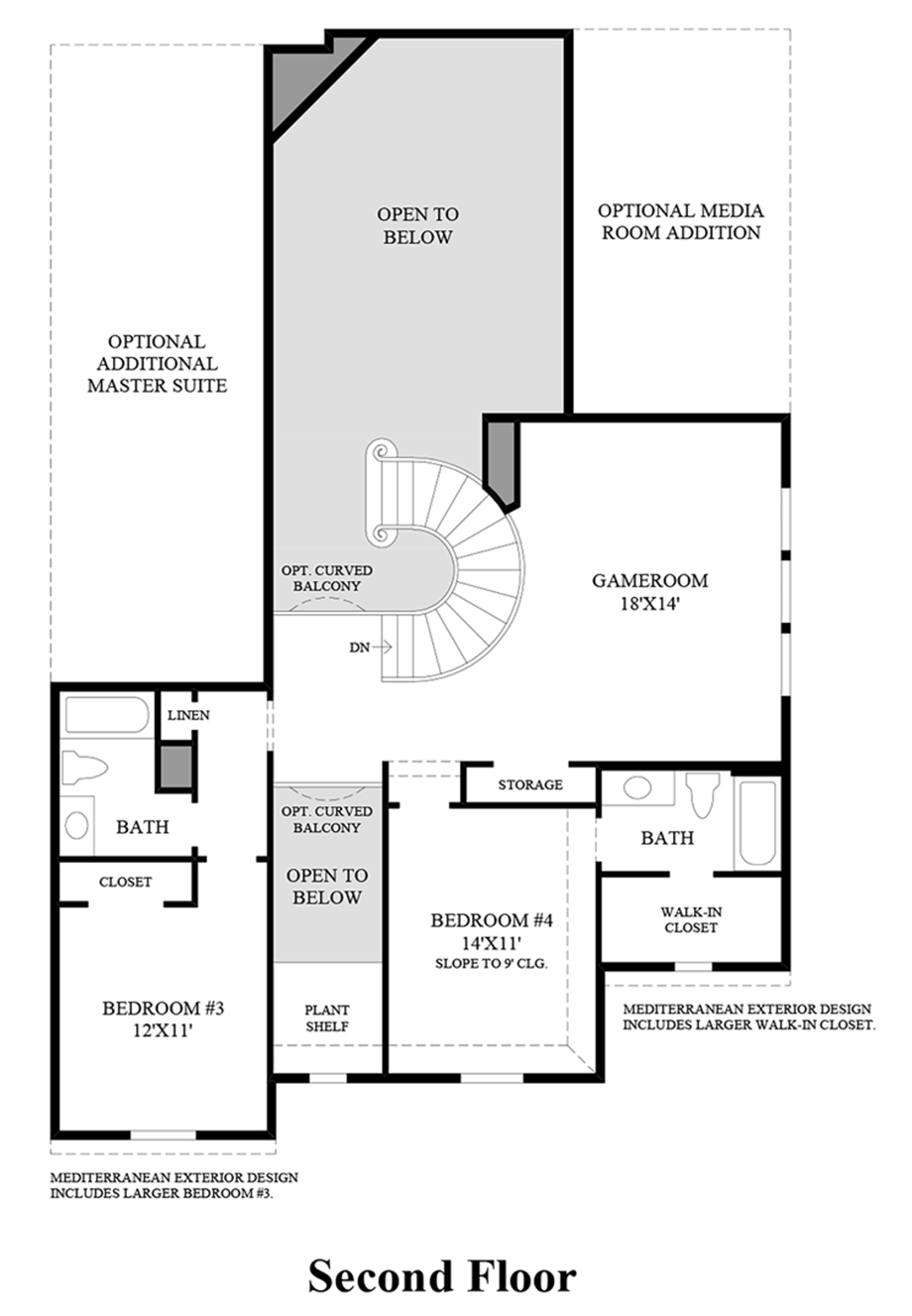 Phillips creek ranch the marshall collection the for Westlake floor plan
