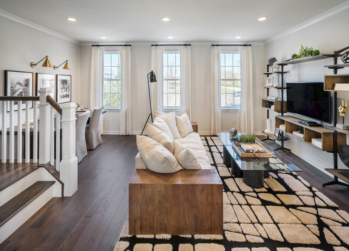 Spacious and bright great room