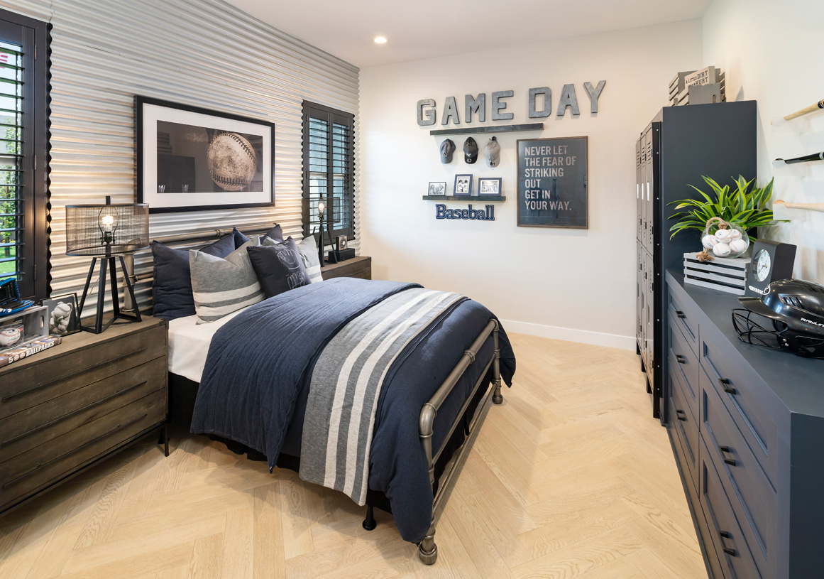 Large secondary bedroom suites