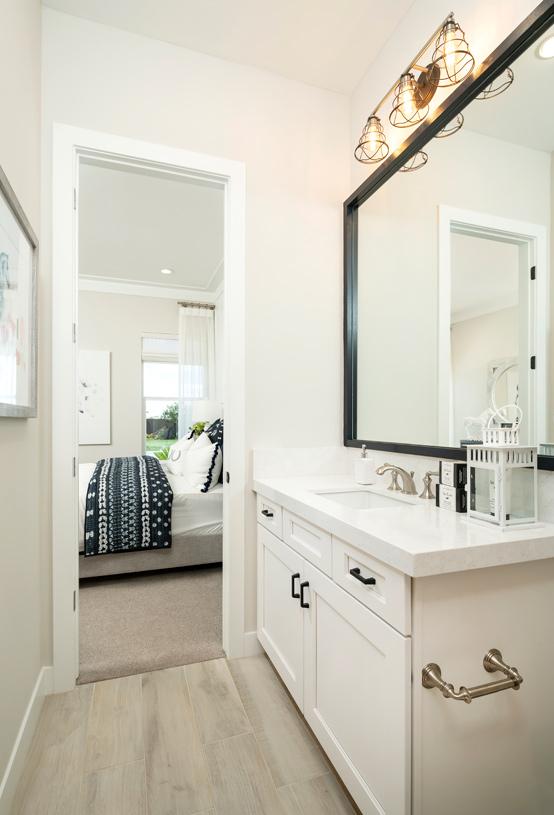 En-suite secondary bathrooms