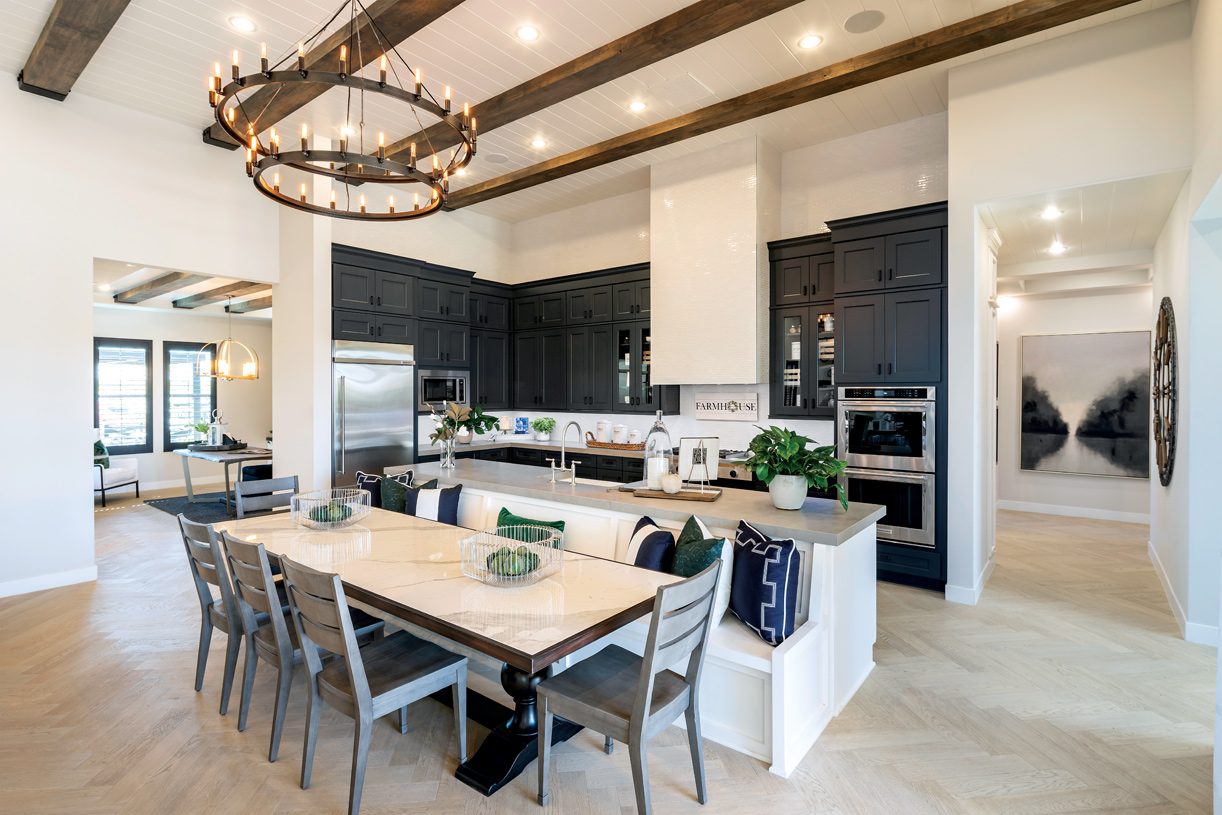 Stunning kitchen with upgraded appliances and ample cabinet space