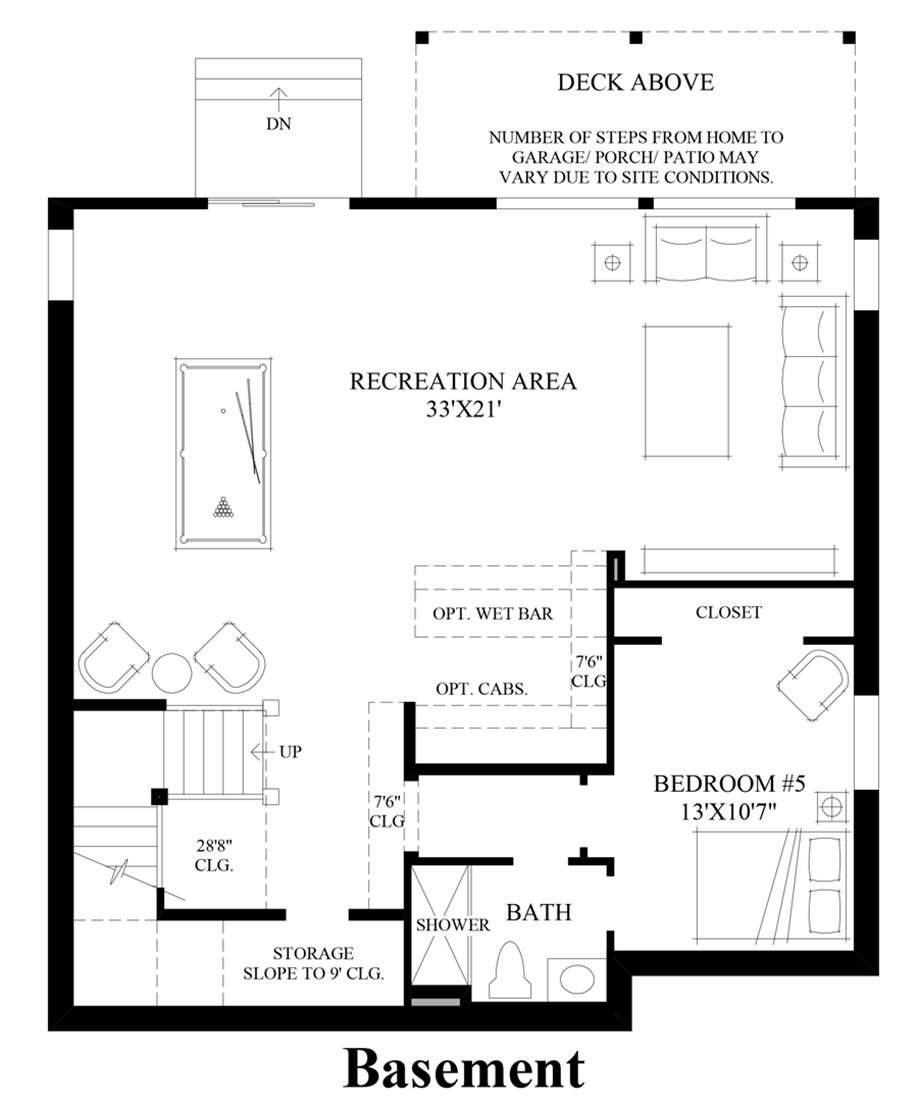 Crestview The Whistler With Basement Home Design