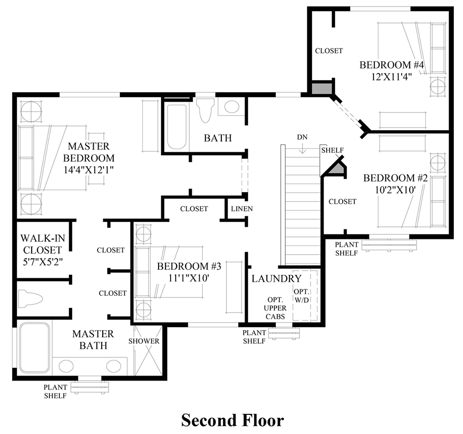 Timber Floor Plans: Timber Creek - The Courtyards