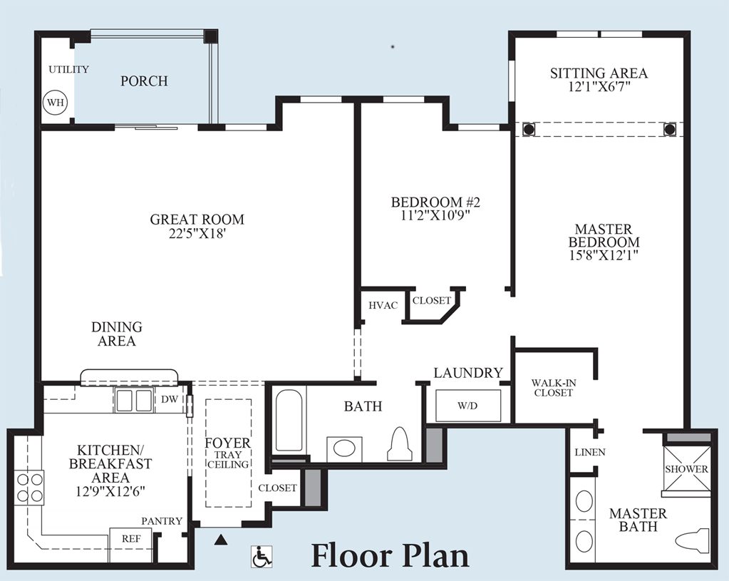 Willowcroft - Floor Plan