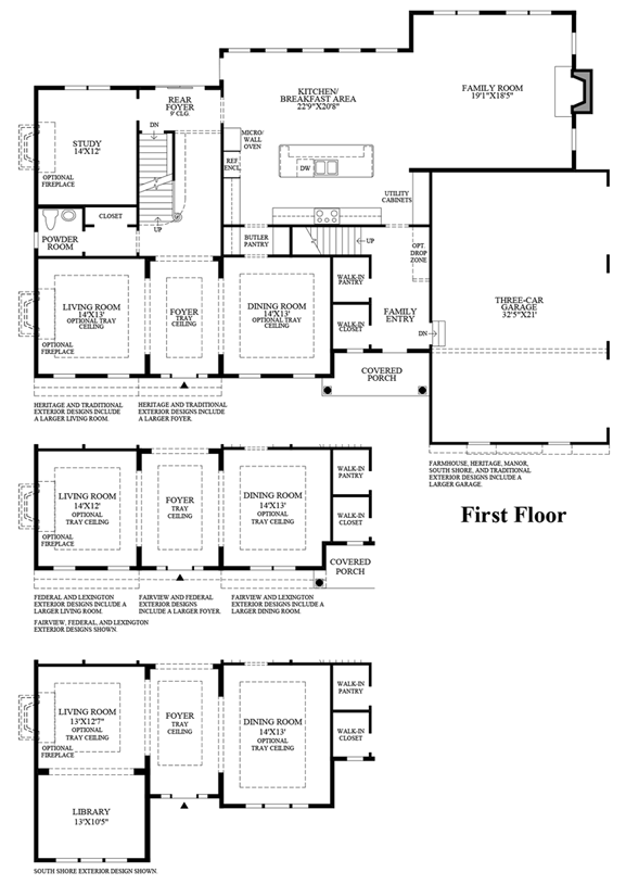 Lenah mill the estates the weatherstone home design for Windemere homes floor plans