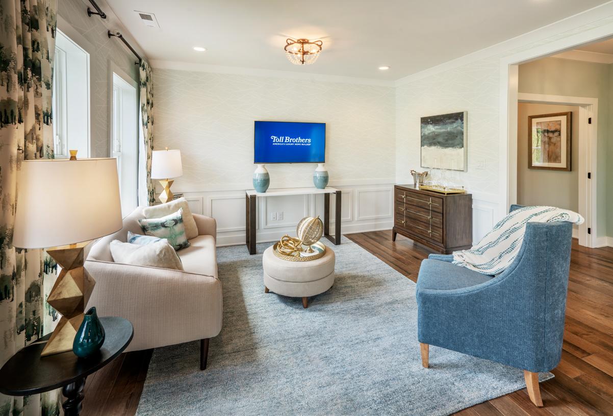 Primary bedroom suite private retreat