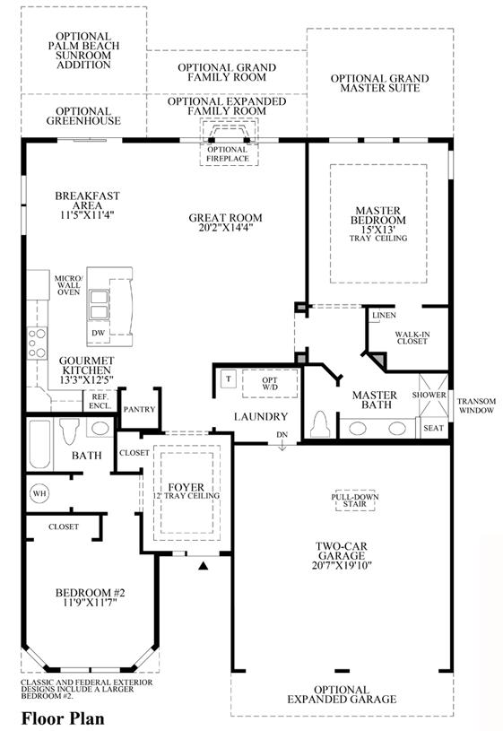 Windsett - Floor Plan