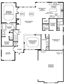Winthrop - Floor Plan