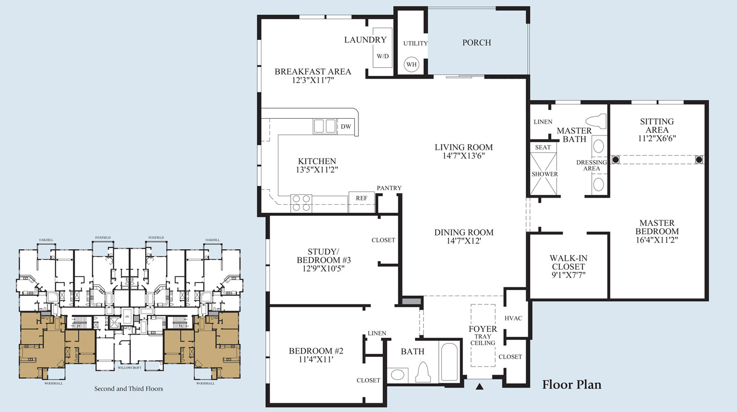 Woodhall - Floorplan