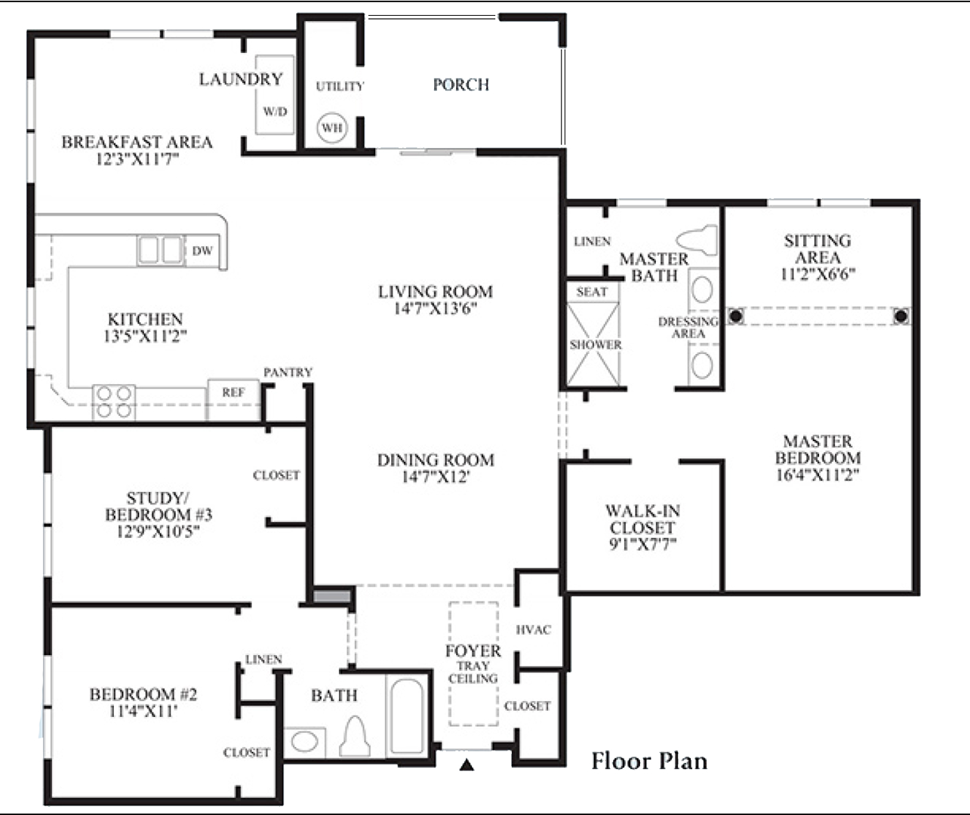 Woodhall - Floor Plan