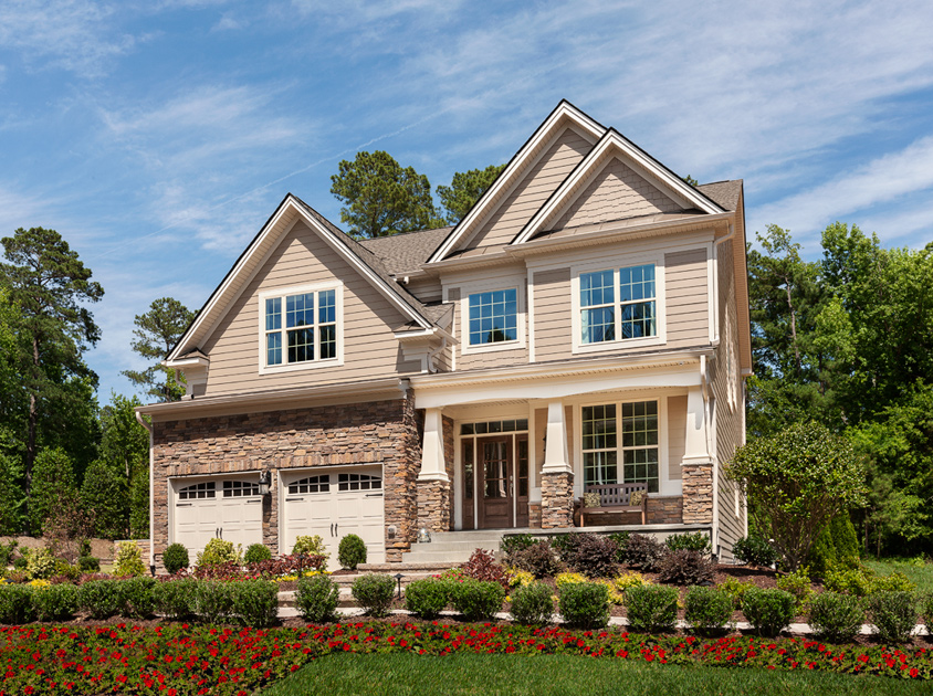 The Pines At Wake Crossing The Woodstock Home Design