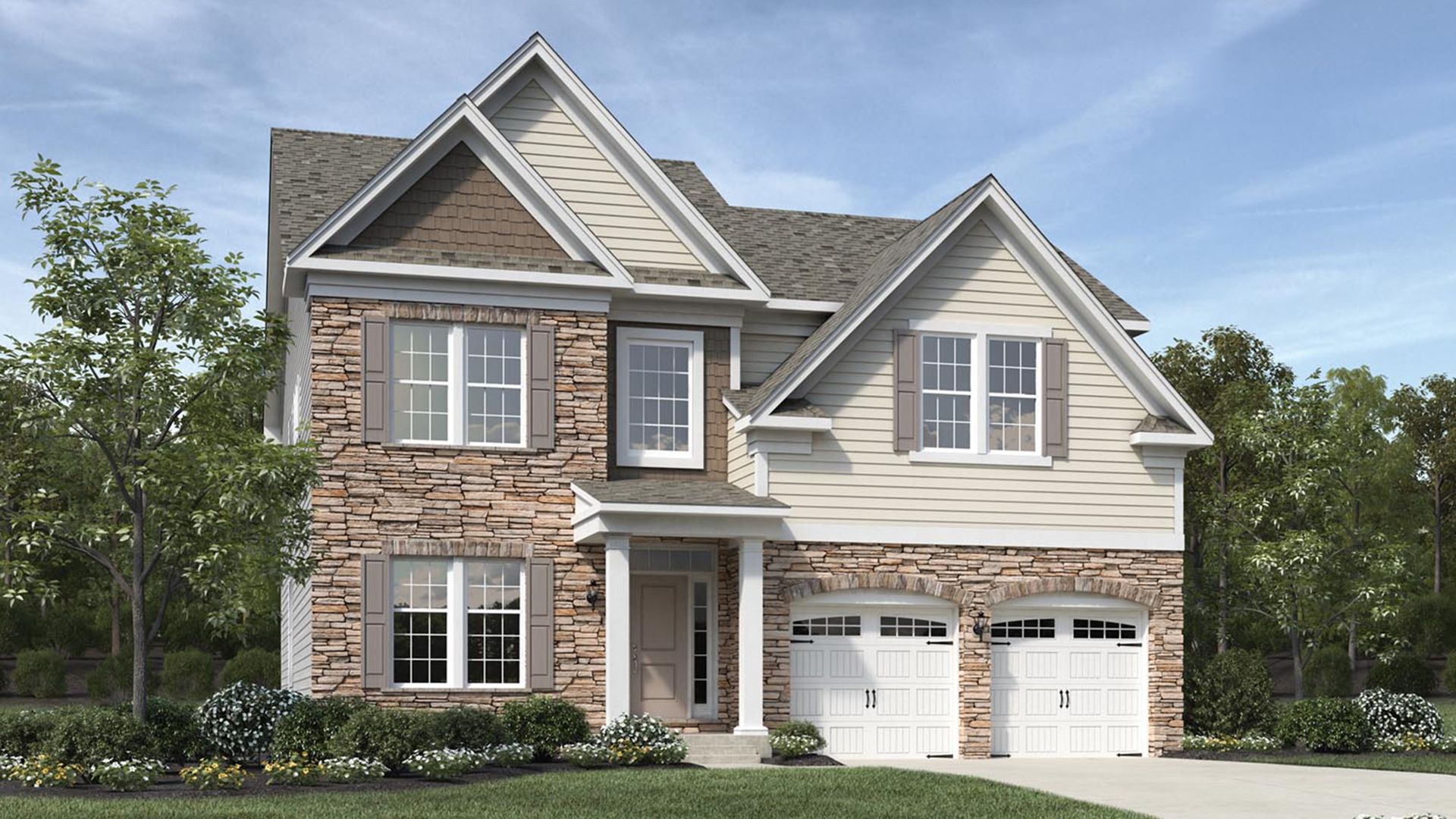 The Pines at Wake Crossing | The Woodstock Home Design