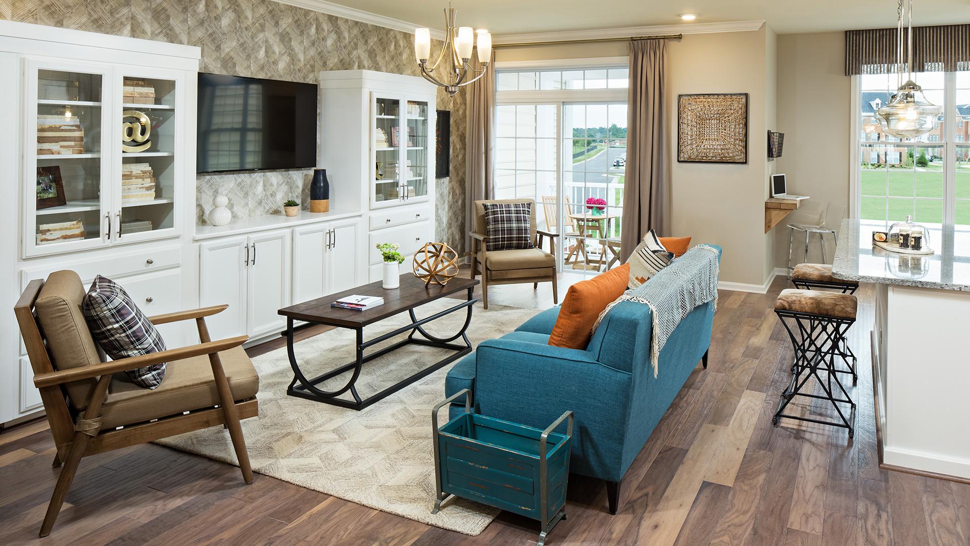Loudoun Valley - The Ridges Quick Delivery Home - Worthington on riley home plan, ashby home plan, breckenridge home plan,