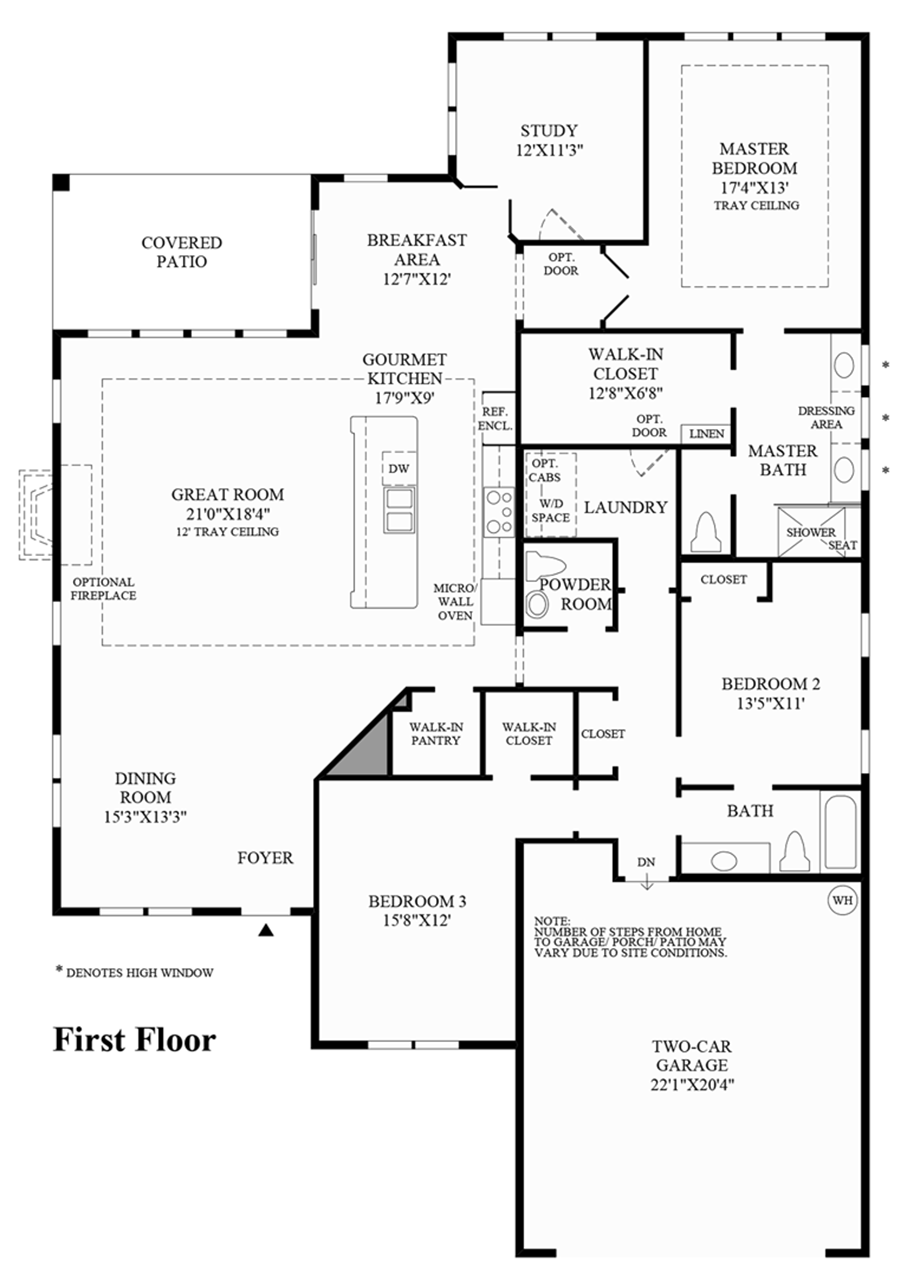 First Floor Floor Plan