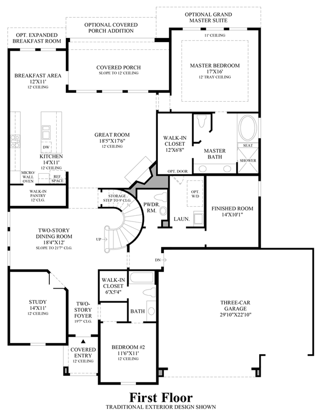 NorthGrove - Executive Collection | The Quinton Home Design