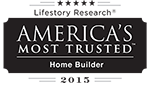 America's Most Trusted Home Builder 2015