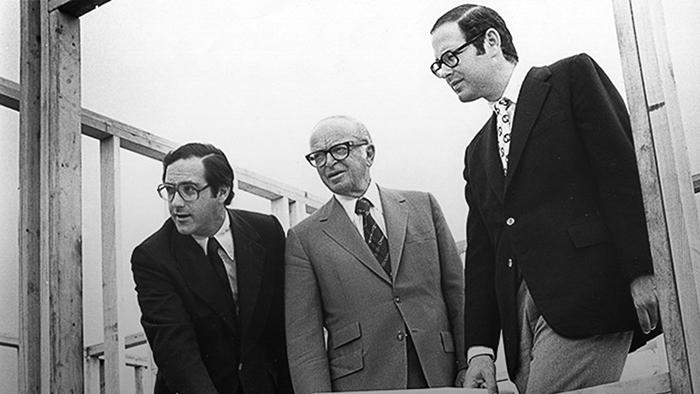 Albert Toll, Bob Toll and Bruce Toll