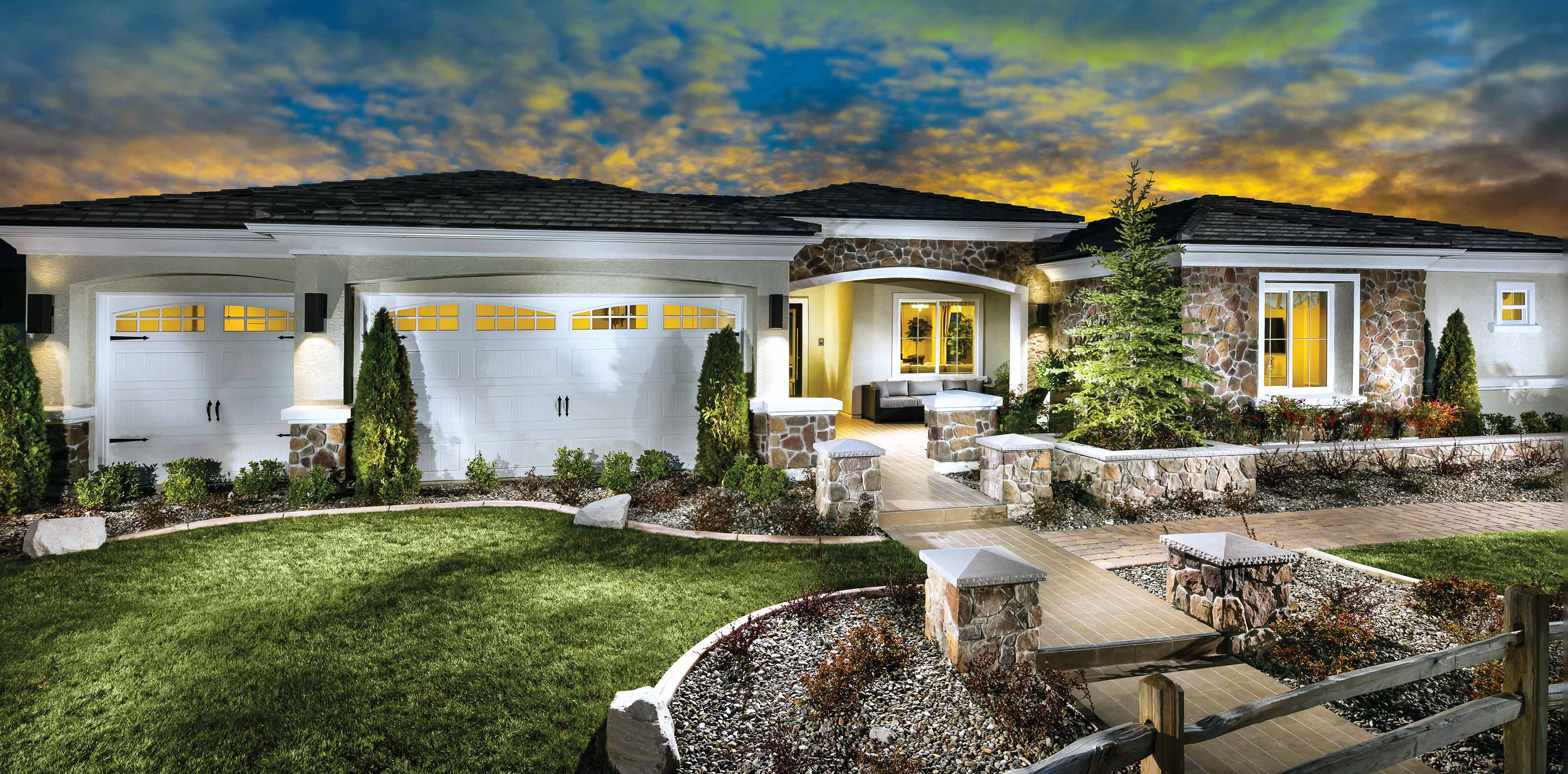 The Pendleton at Estates at Saddle Ridge in Reno Nevada